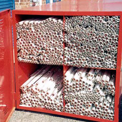 Fluorescent tube disposal and recycling